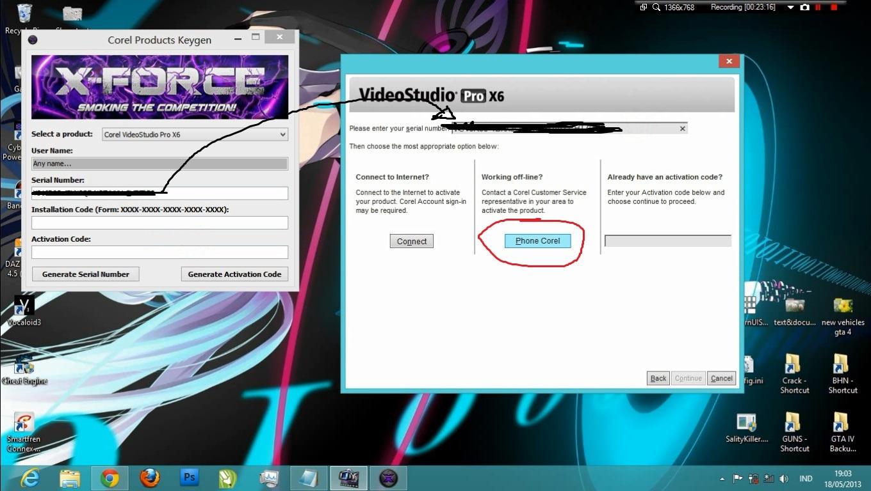 keygen corel video studio 10 unlead