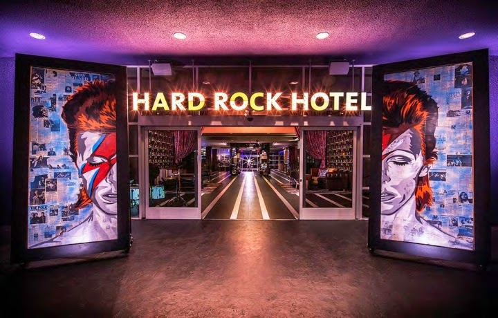 El Hard Rock Hotel en Palm Springs, California