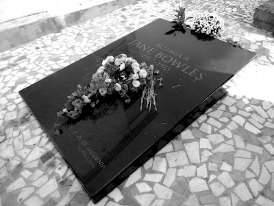 Tumba de Jane Bowles en Málaga