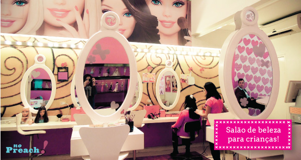 Loja da Barbie - salão de beleza infantil - palermo - buenos aires