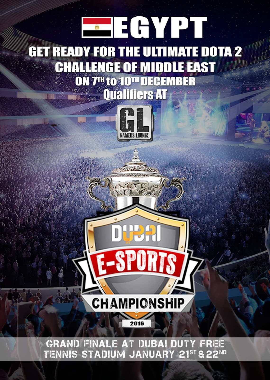 Dubai E Sports Championship For DOTA2 Dubai E Sports