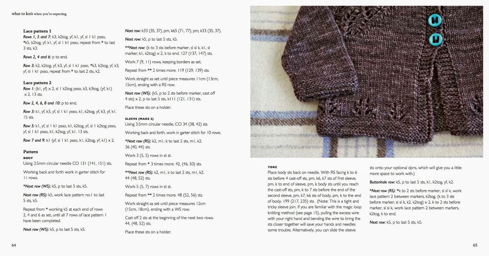 What To Knit When You\'re Expecting: Errata