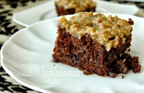 Chocolate Pumpkin and Brown Streusal Coffee Cake