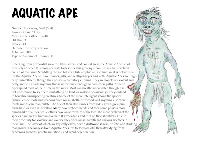 Aquatic Ape - Corey Ryan Walden