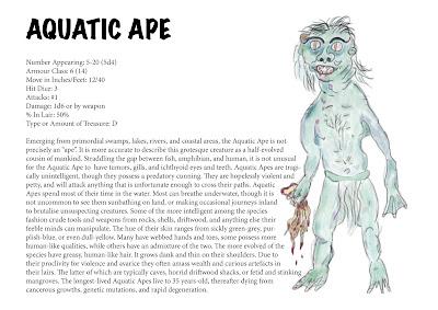 Aquatic Ape - Corey Ryan Walden