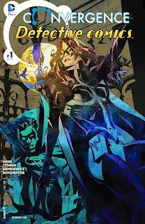 Cover of Convergence: Detective Comics #1 from DC Comics