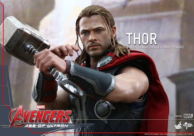 Hot Toys 1/6 Scale action figure Thor Avengers Age of Ultron