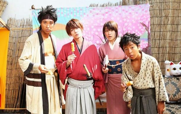 El tema de ONE OK ROCK para las  películas de imagen real de Rurouni Kenshin en este anuncio