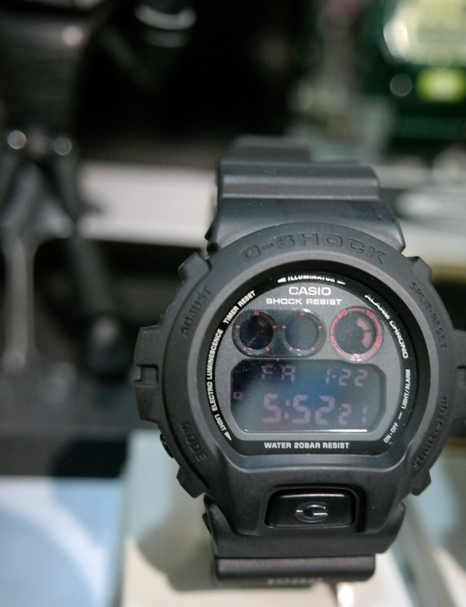Band and bezel G-Shock