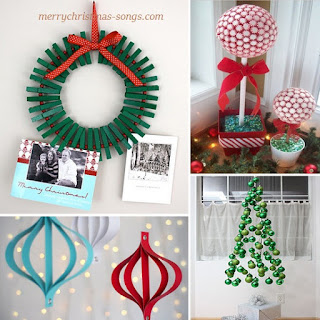 handmade xmas decoration ideas