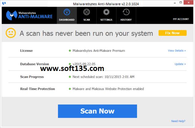 Key malwarebytes