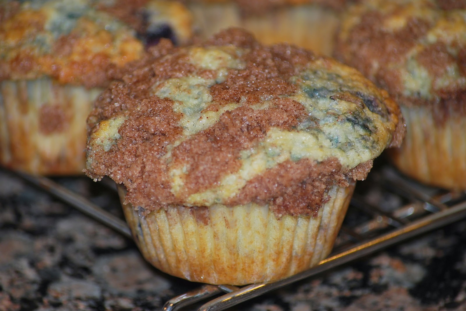 My story in recipes: Blueberry Vanilla Muffins
