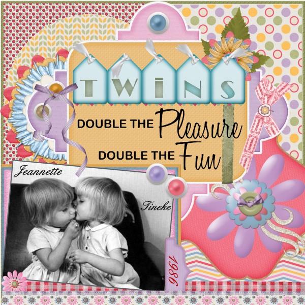 Feb.2016 – Twins sisters