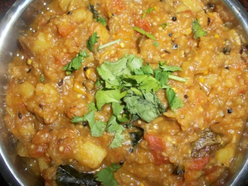 Brinjal Curry(Keralan Style)
