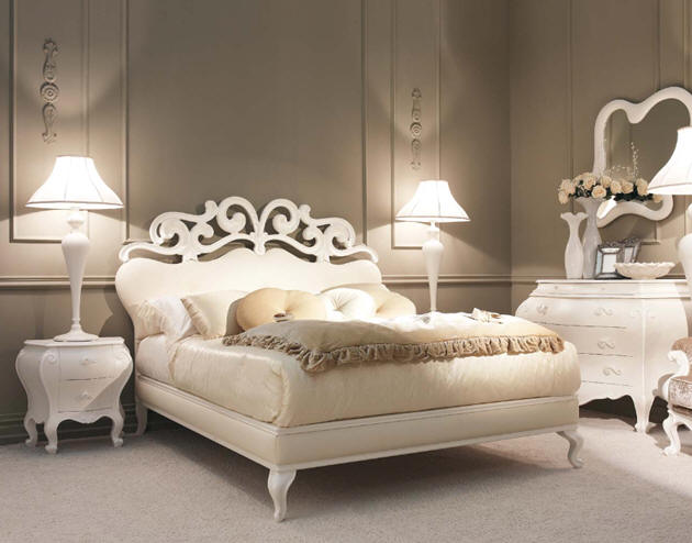Classic bed designs - Chambre a coucher baroque ...