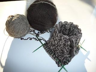 skarpety na drutach krok po kroku