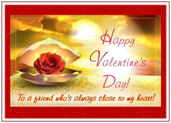 Valentine s Day dear friend