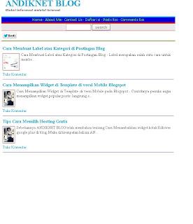 Elegant Template SEO valid HTML5 2013