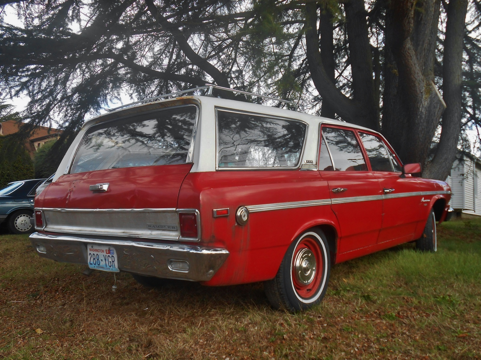 seattle 39 s parked cars 1968 rambler american 440 station wagon. Black Bedroom Furniture Sets. Home Design Ideas