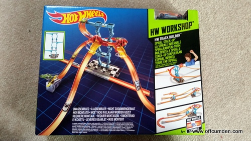 Hot Wheels Track Builder Spiral Stack-Up