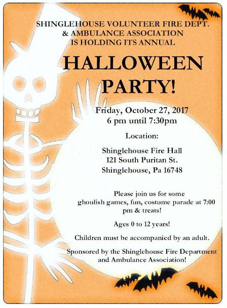 10-27 SVFD Annual Halloween Party