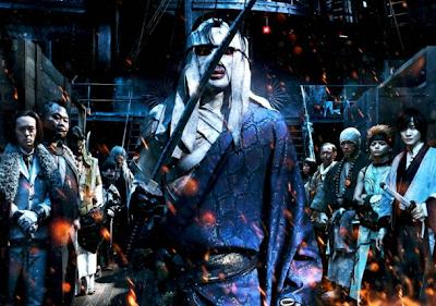 Rurouni Kenshin live action Juppongatana actores