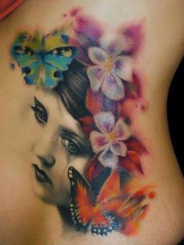 Tatuajes para Mujeres, Flores, parte 1