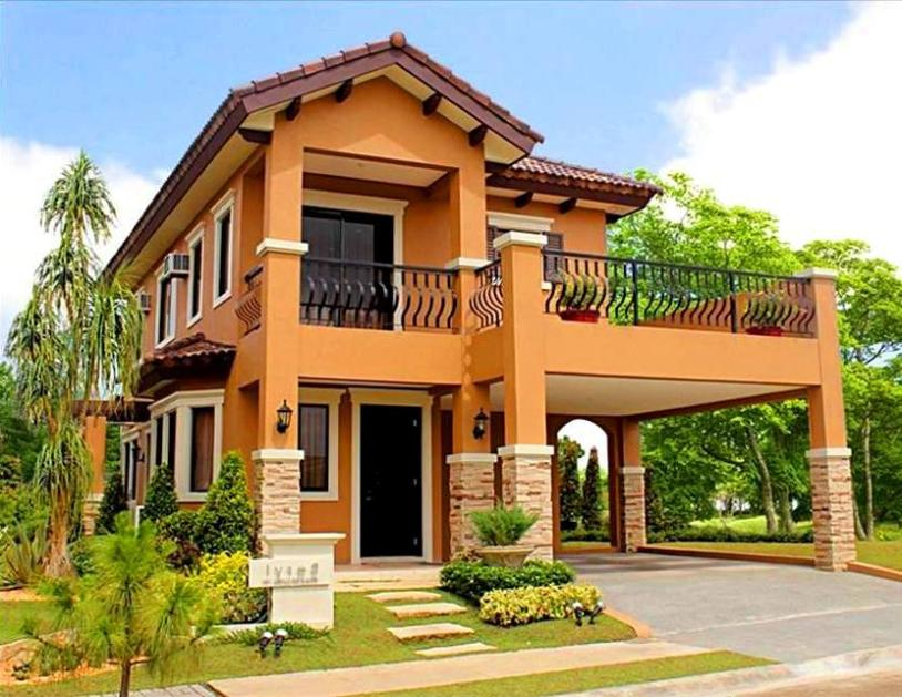 Different styles of houses home design and style for Pictures of two story houses in the philippines