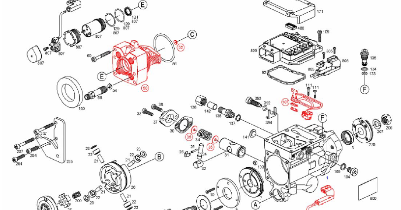 ford jubilee hydraulic pump diagram