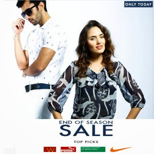 Clothing, Footwear & Accessories Upto 77% off + Upto 42% off || Myntra