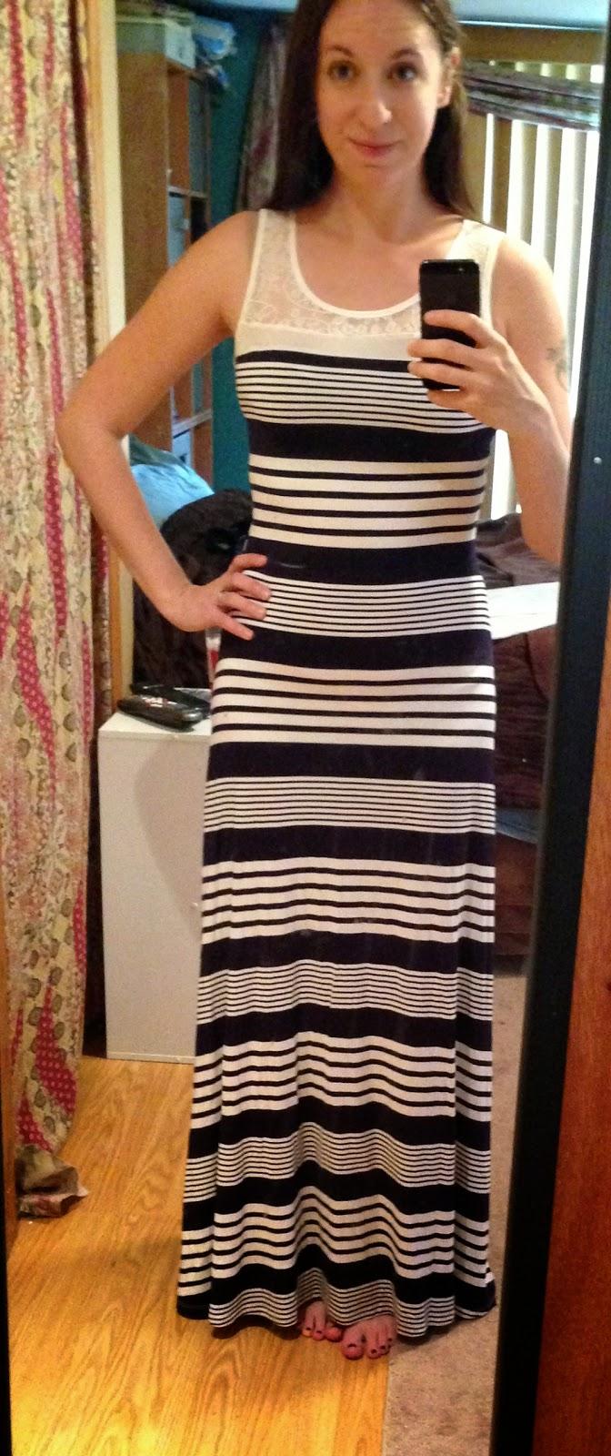 Fiona maxi dress stitch fix