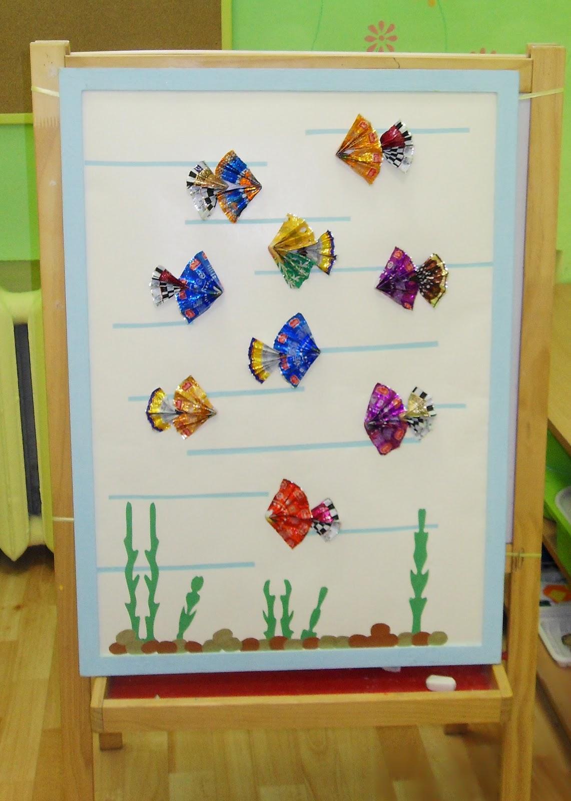 Поделки из фантиков от конфет своими руками в детском саду