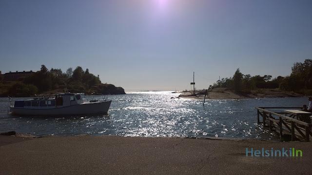 boats at Kaivopuisto