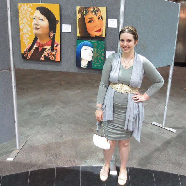 commffest, commffest international art exhibition, toronto, toronto metro hall, rotunda hall, toronto artist, portrait, beauty art, malinda prudhomme, art exhibition, realism