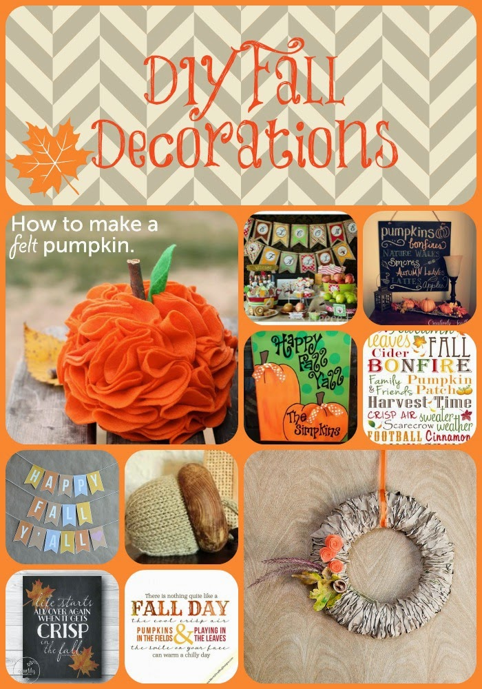 Diy Fall Decor Part - 34: 10 Fun Fall Decor DIY Ideas