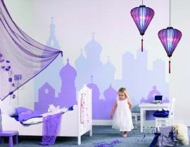 Paarse Slaapkamer Lamp : Lampionsenzo paarse kinderkamer lamp