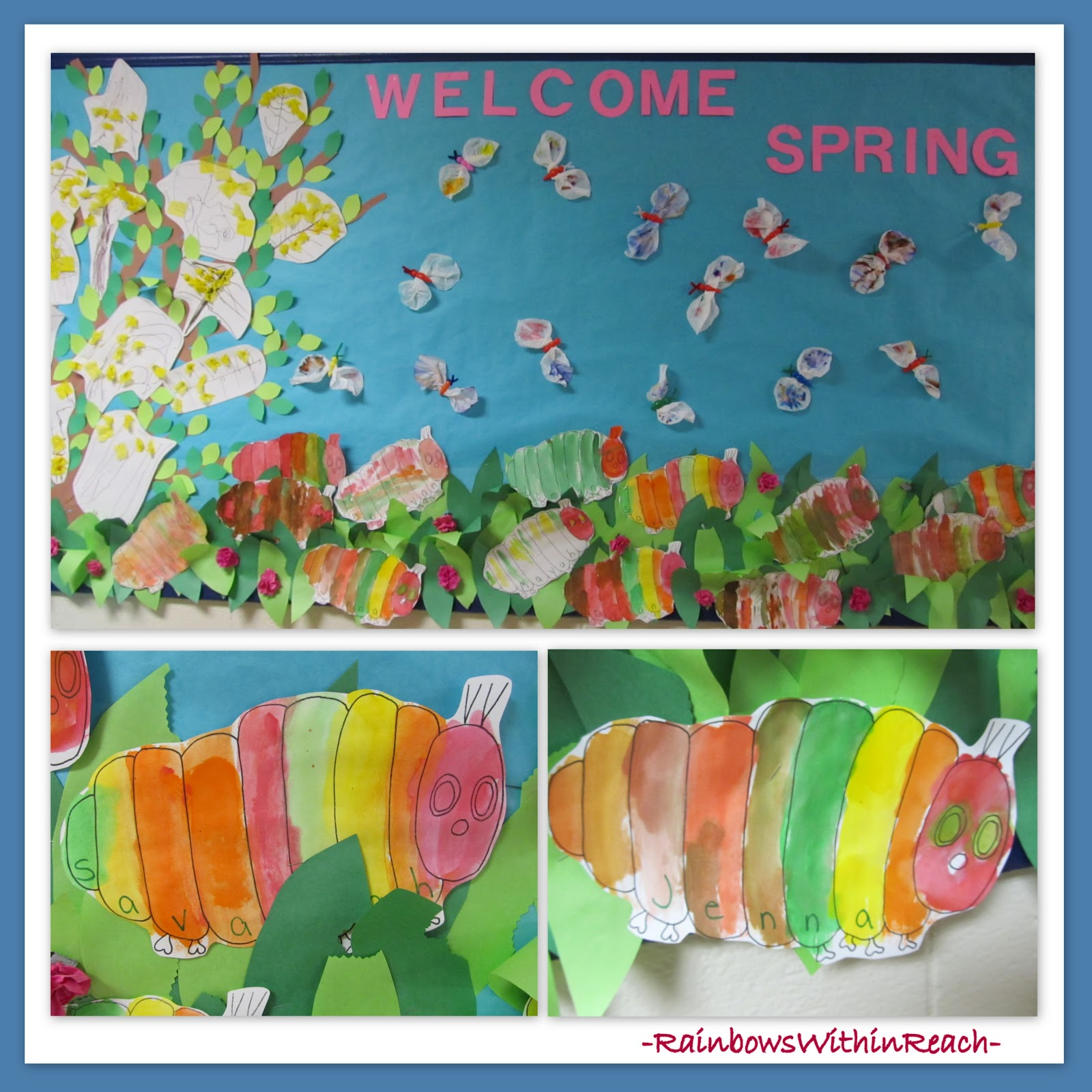 Spring Classroom Idea ~ Rainbowswithinreach spot