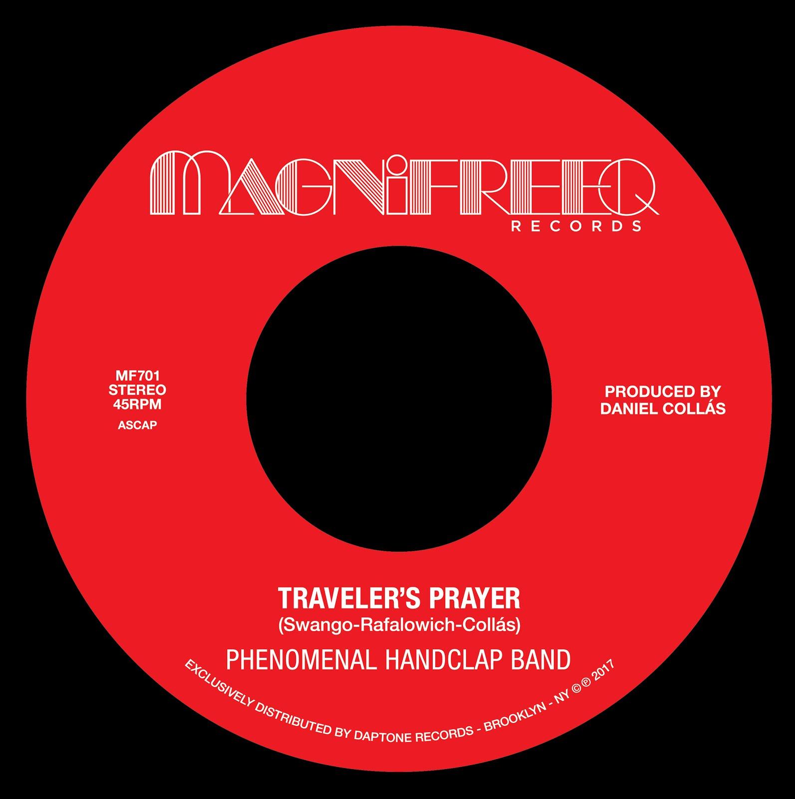 "Traveler's Prayer/ Stepped Into the Light 7"""