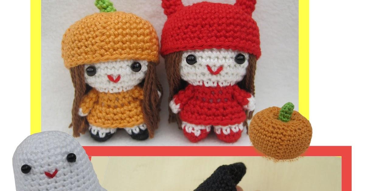 Amigurumi Hakelanleitungen von K and J Dolls: Halloween ...