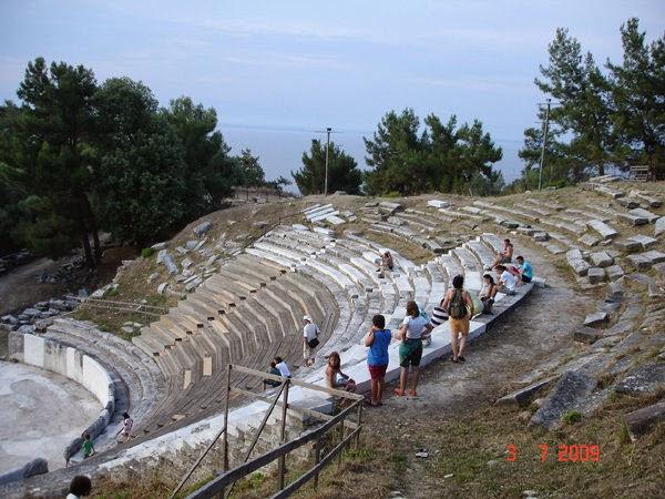 teatrul antic din Thassos