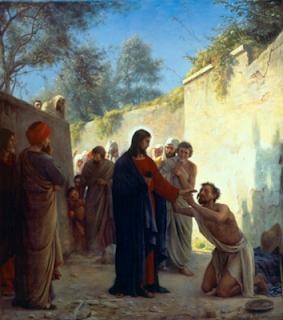Christ Healing - Carl Heinrich Bloch