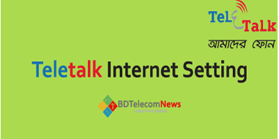 teletalk internet setting