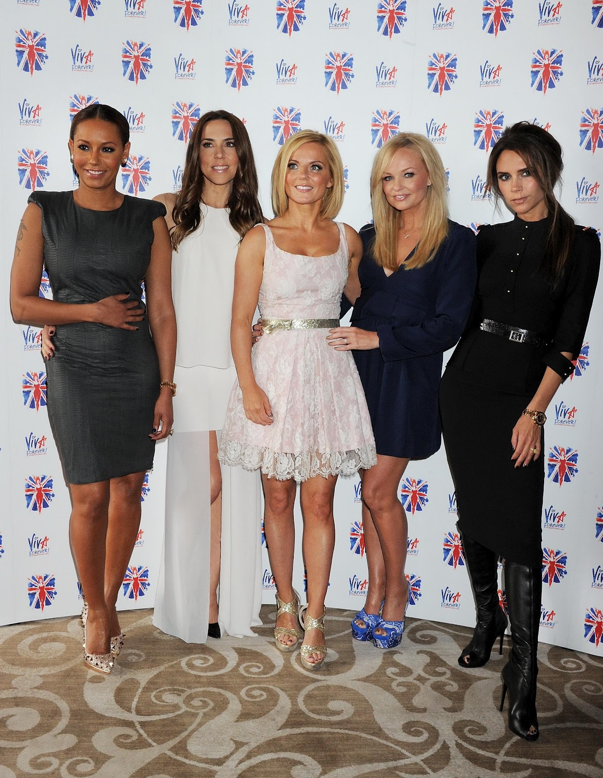The Spice Girls Press Launch Of Viva Forever In London July