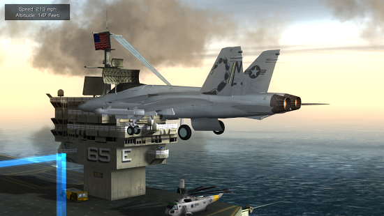 F18 Pilot Flight Simulator v1.0 Apk + Data Full
