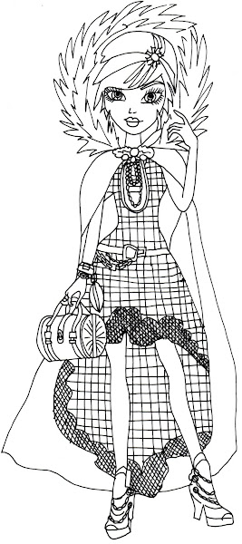 Ever After High Coloring Pages