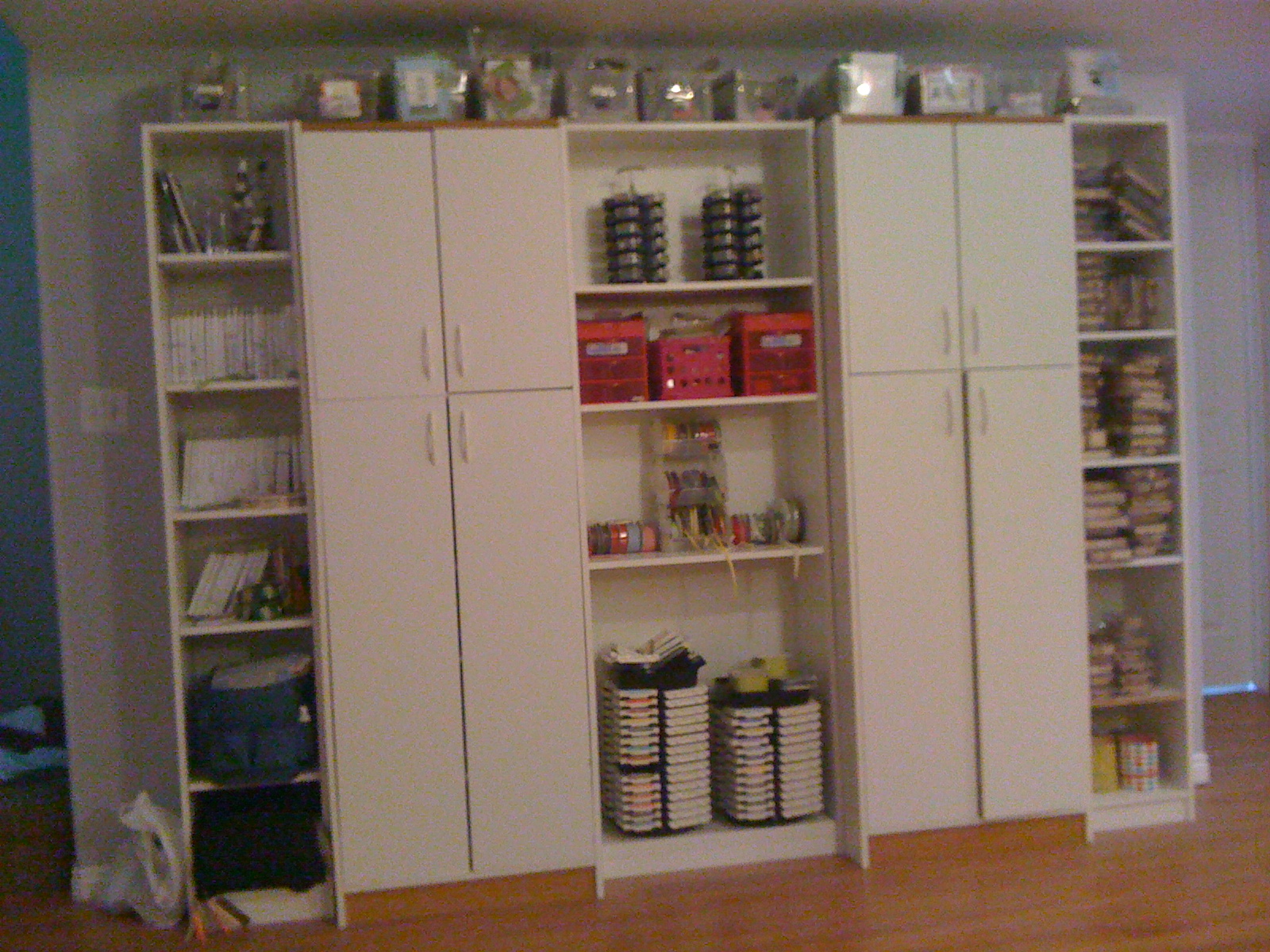 Inkin 39 cute ideas my inkin 39 cute craft room shelves for Stampin pretty craft room