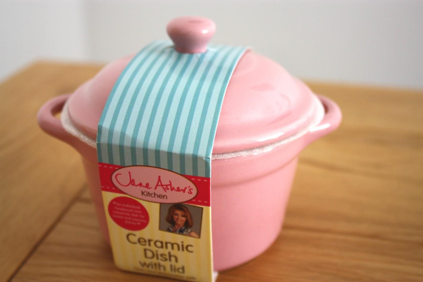 White apron poundland - Jane Asher Ceramic Dish