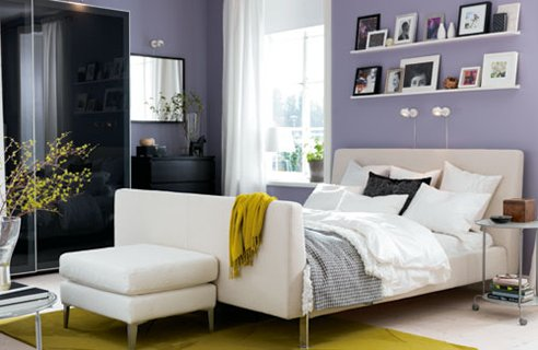 63 cool idea ikea bedroom designs by modern bedroom home for Ikea blue bed