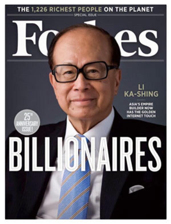 billionaire li ka shing