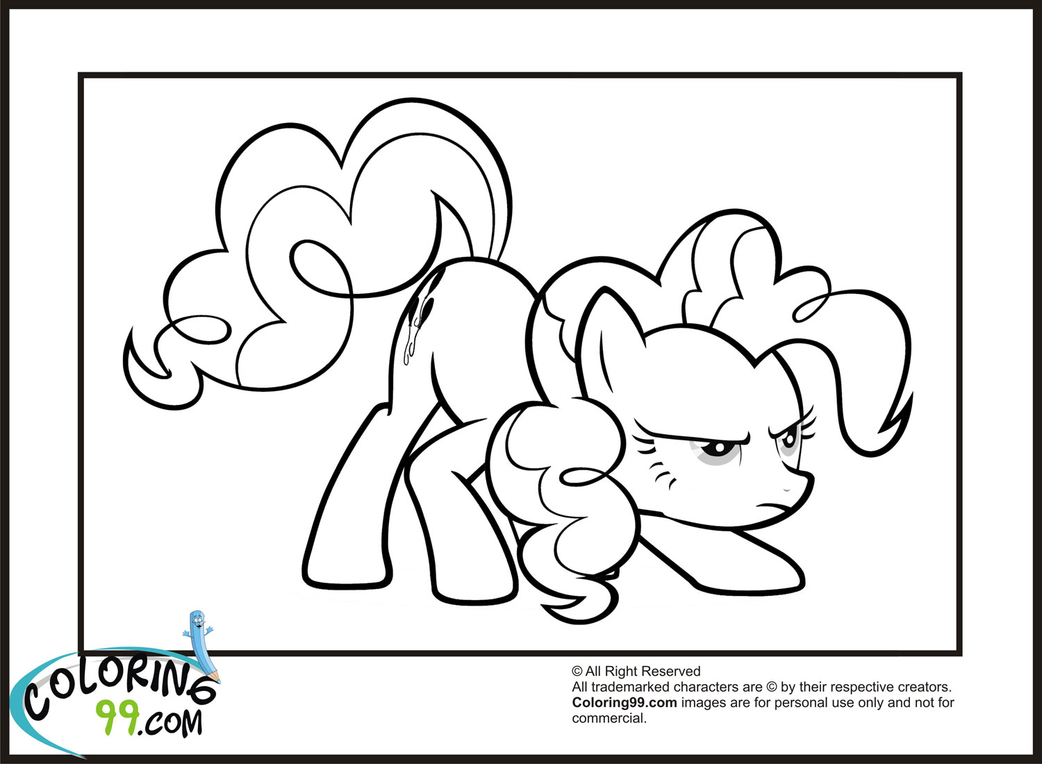 My little pony friendship is magic elements of harmony coloring pages
